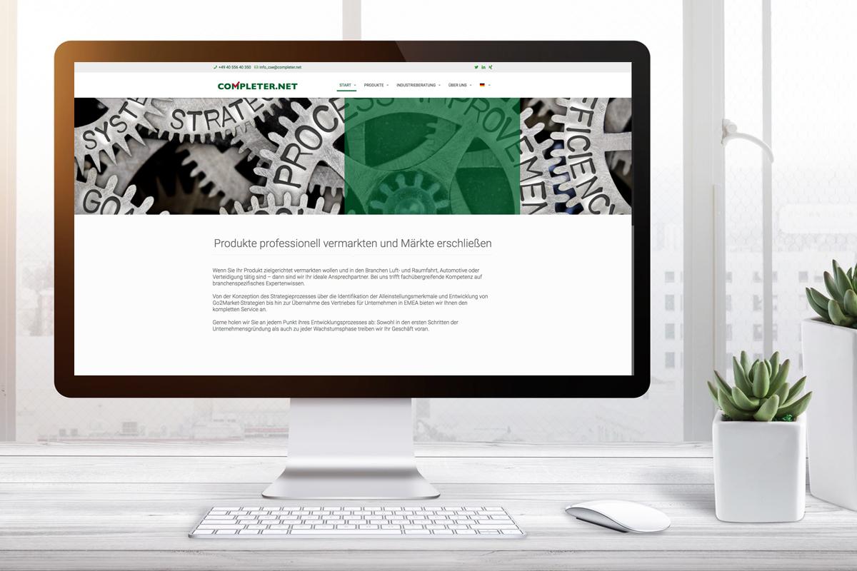 completer.net – Erscheinungsbild