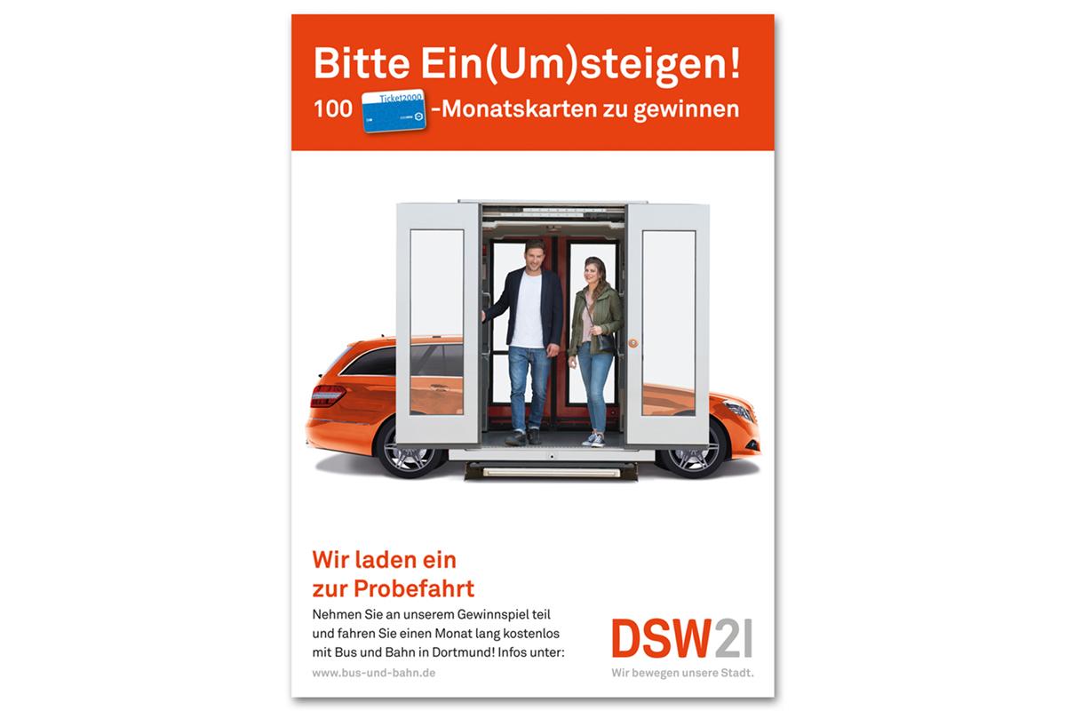 """KreativRealisten steigen """"ein & um"""" für DSW 21"""