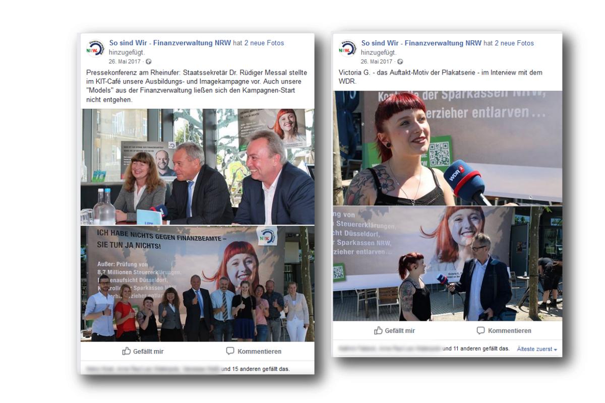 Ministerium der Finanzen NRW – Social Media