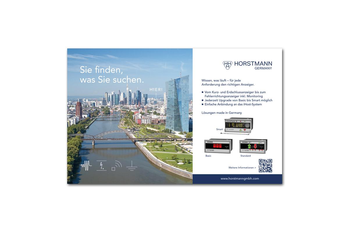 HORSTMANN – Anzeigenentwicklung
