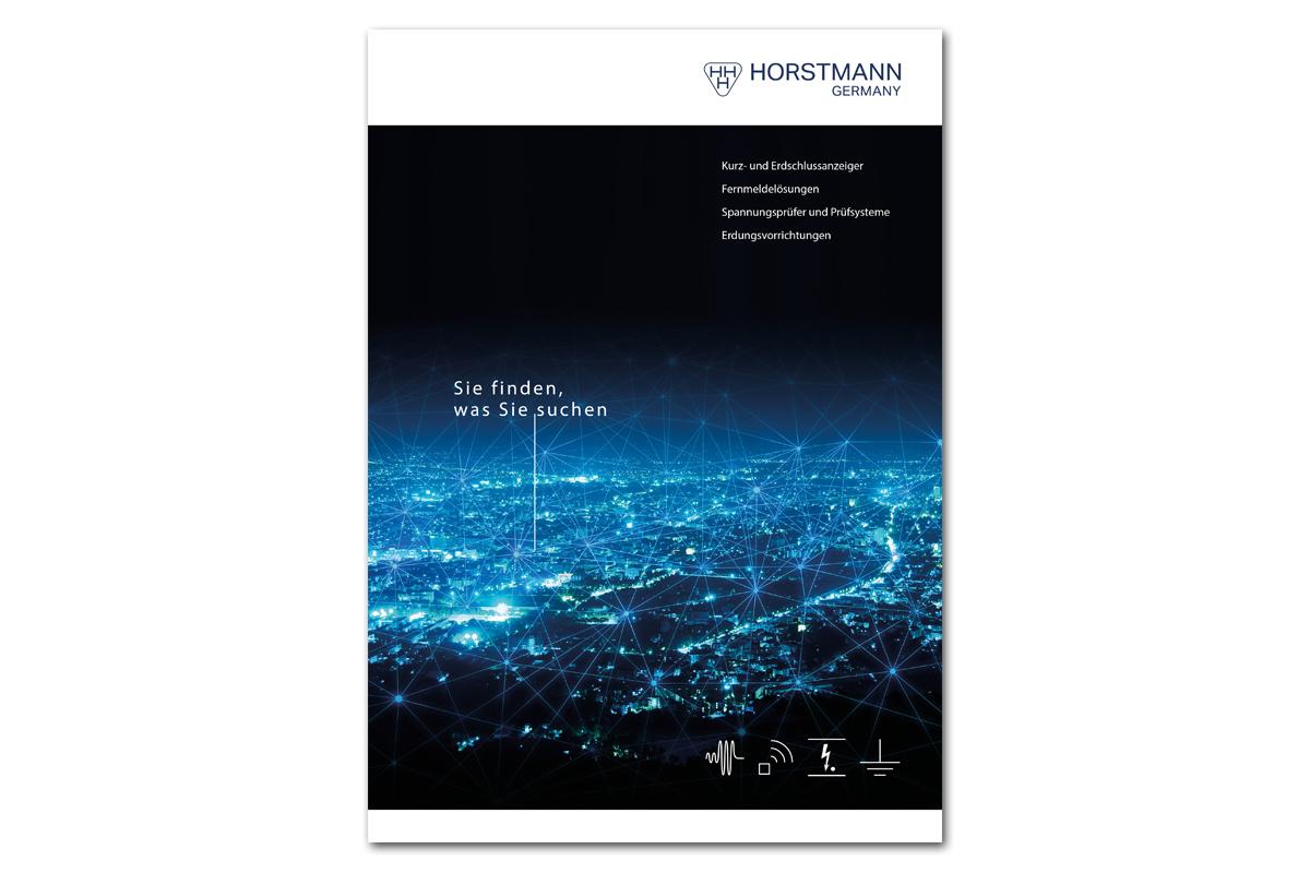 HORSTMANN – Gestaltungsraster für Gesamtkatalog