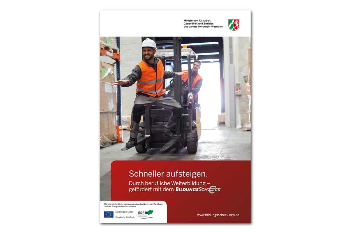 Ministerium für Arbeit, Gesundheit und Soziales NRW – Bildungsscheck