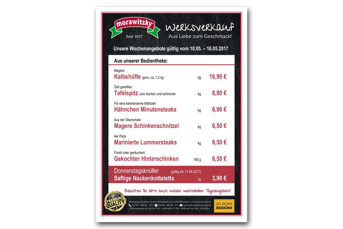 Morawitzky – Etikettendesign