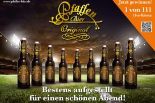 Pfaffen Bier – EM Plakat
