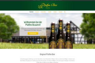 """Der """"Pfaffe"""" geht online – Relaunch pfaffen-bier.de"""