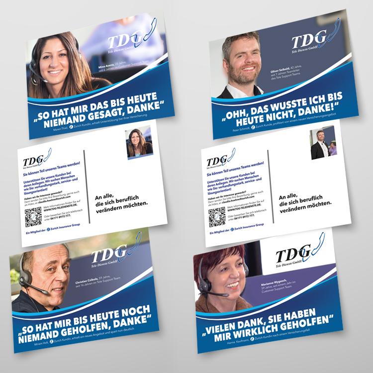 Kampagne der TDG (Tele Dienste GmbH)