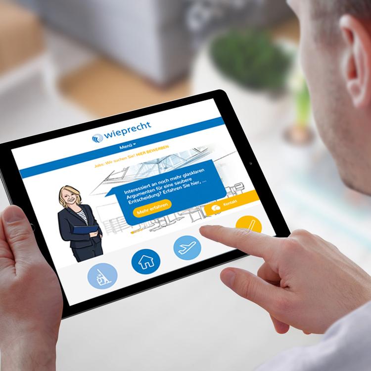 Wieprecht-Service – Website Relaunch