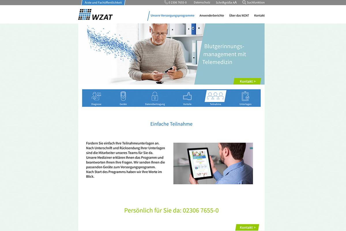 WZAT – Relaunch der Internetpräsenz