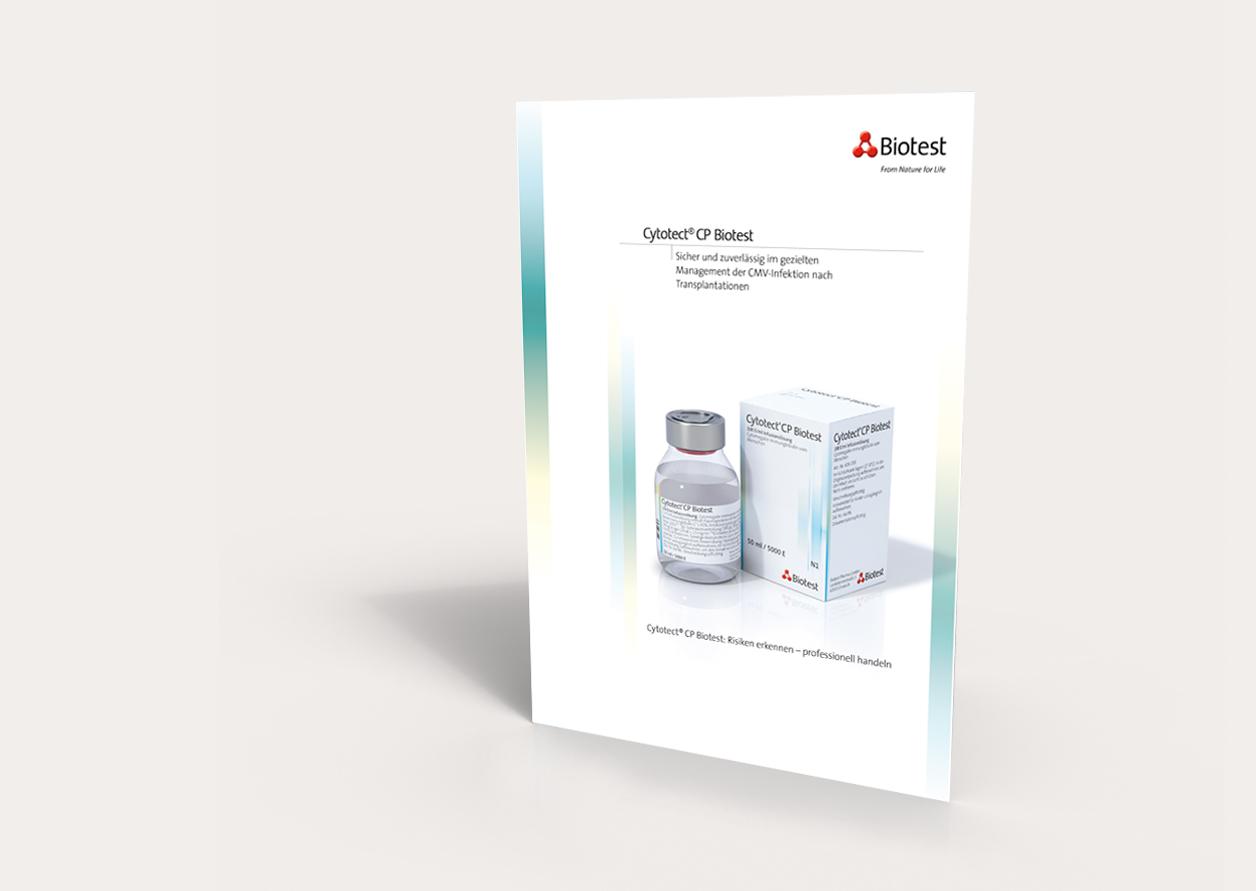 Biotest – Besprechungsunterlagen Cytotect