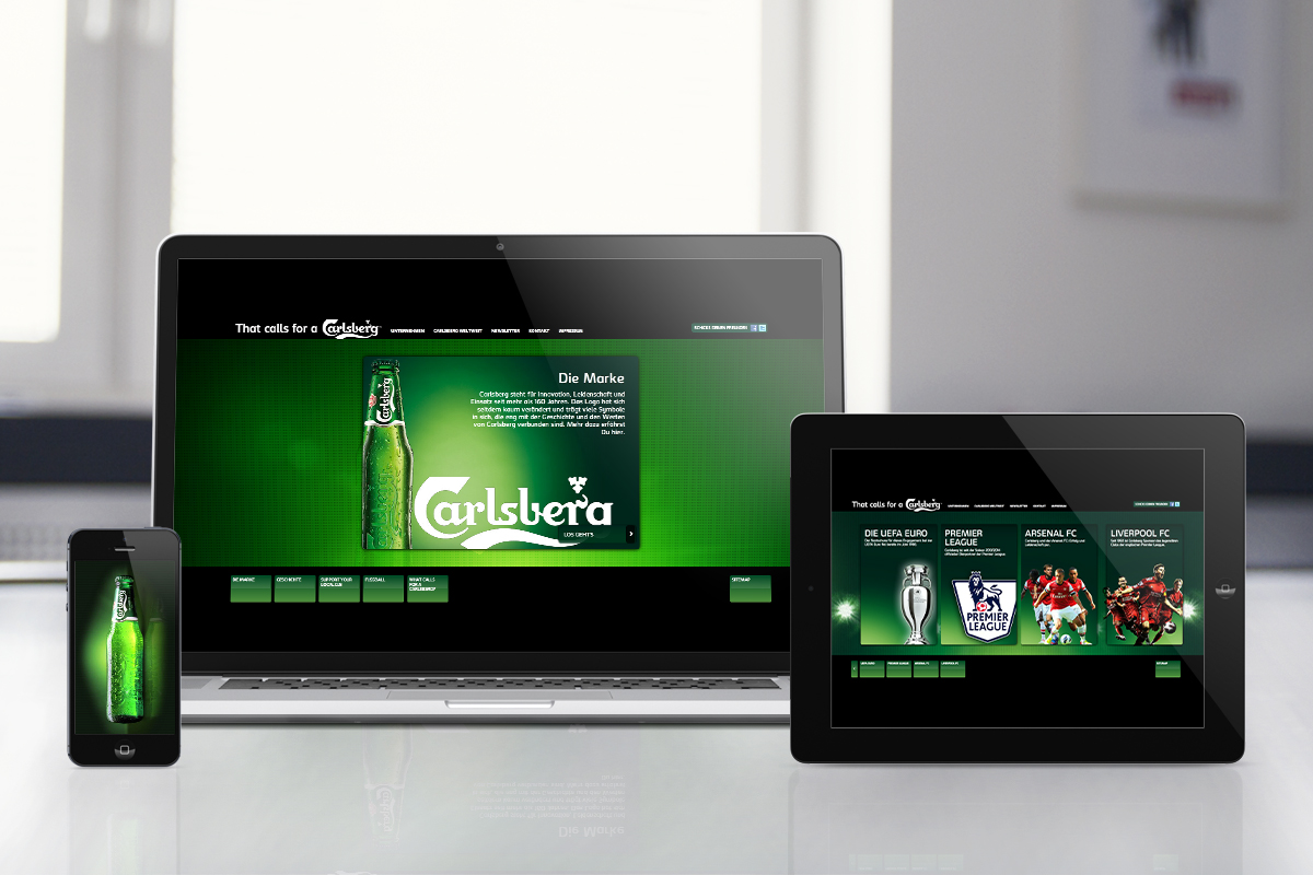 Carlsberg – Website