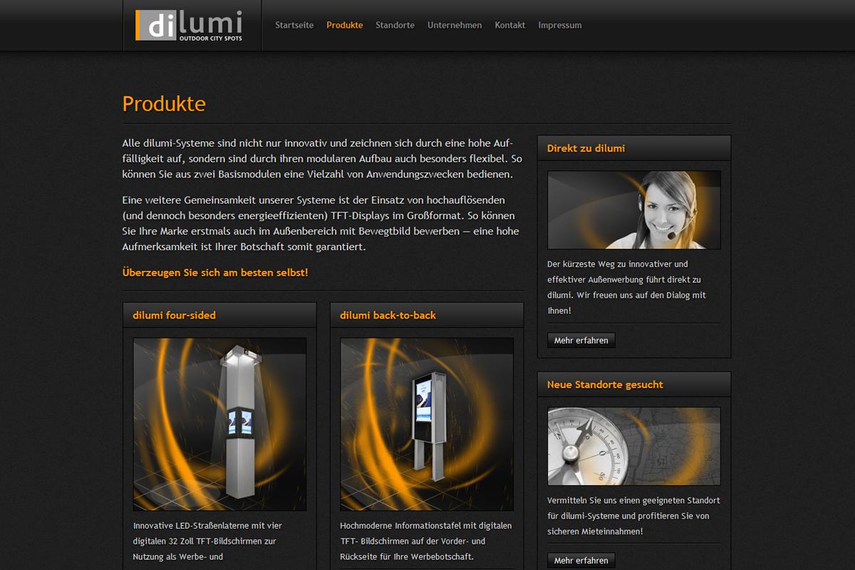 dilumi – Website
