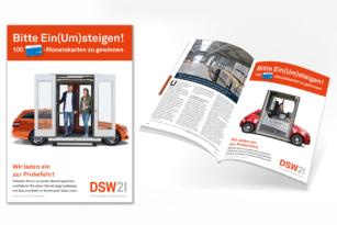 """KreativRealisten steigen """"ein & um"""" für DSW21"""