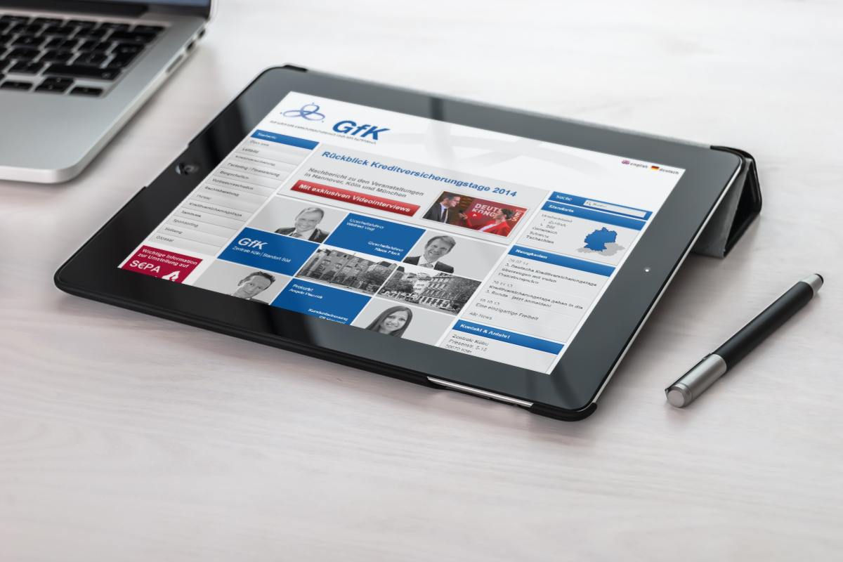 GfK – Website