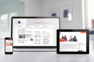 GS1 – Screendesign Website