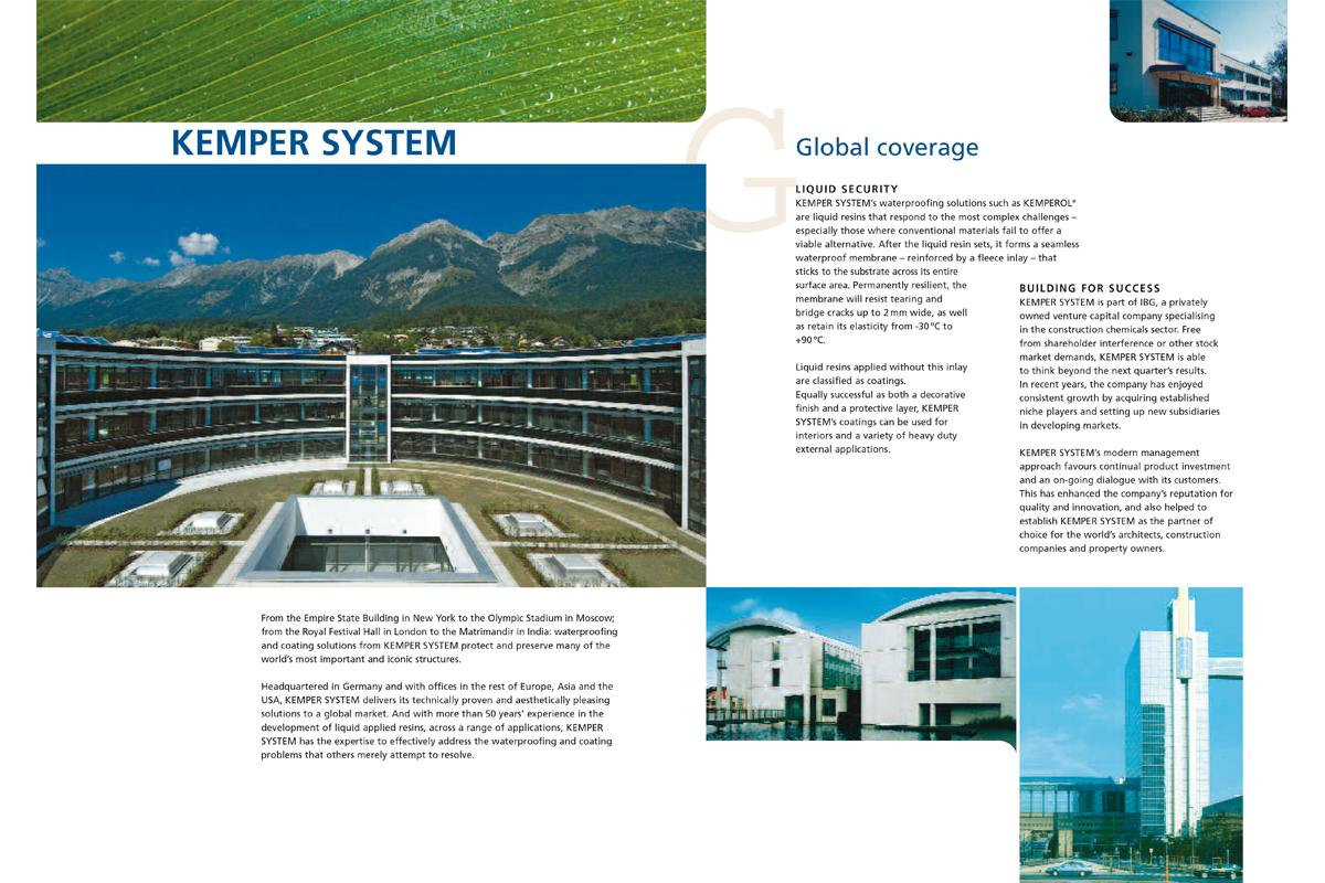 Kemper System – Imagebroschüre