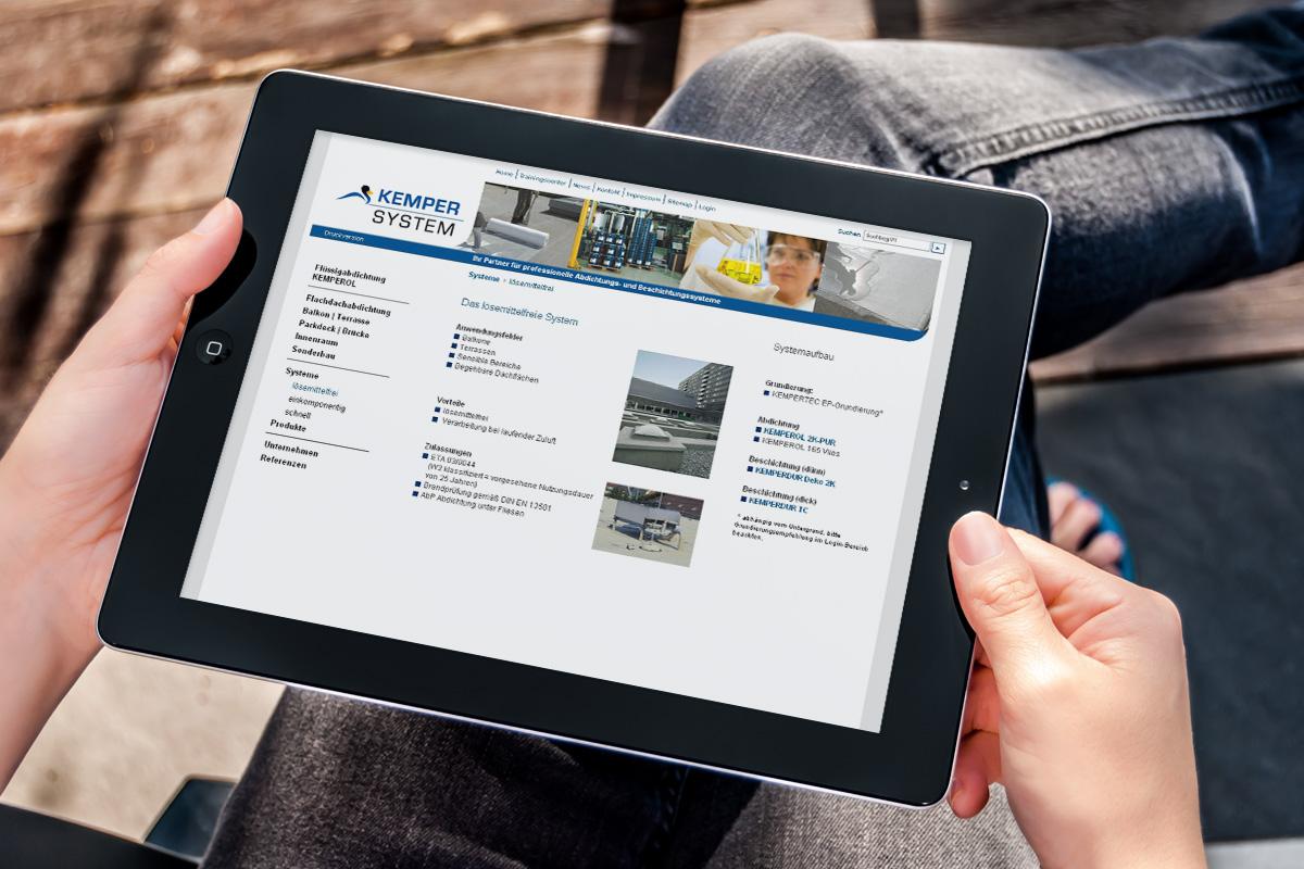 Kemper System – Website