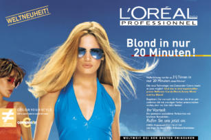 L'ORÉAL – Werbemittel COLOR YOUR STYLE
