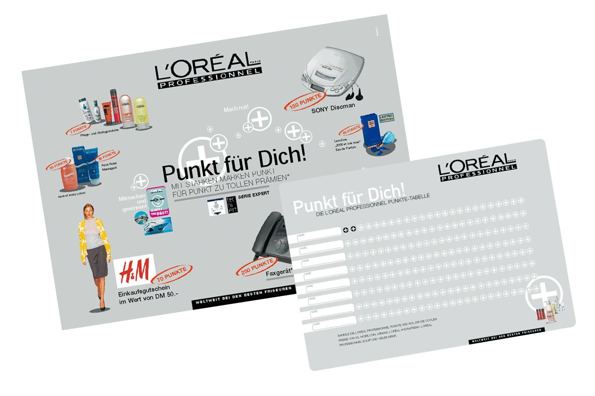 L'ORÉAL – Produktübergreifende VKF-Aktion
