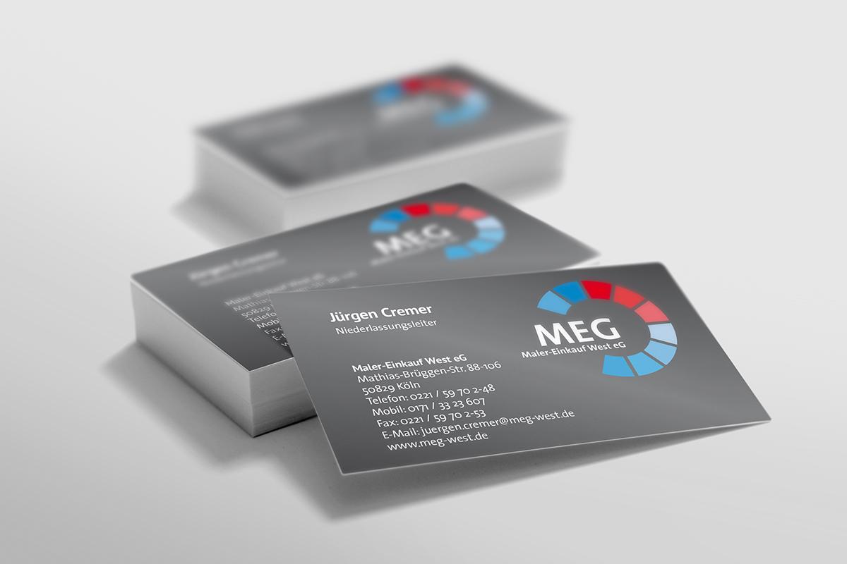 MEG – Geschäftsausstattung