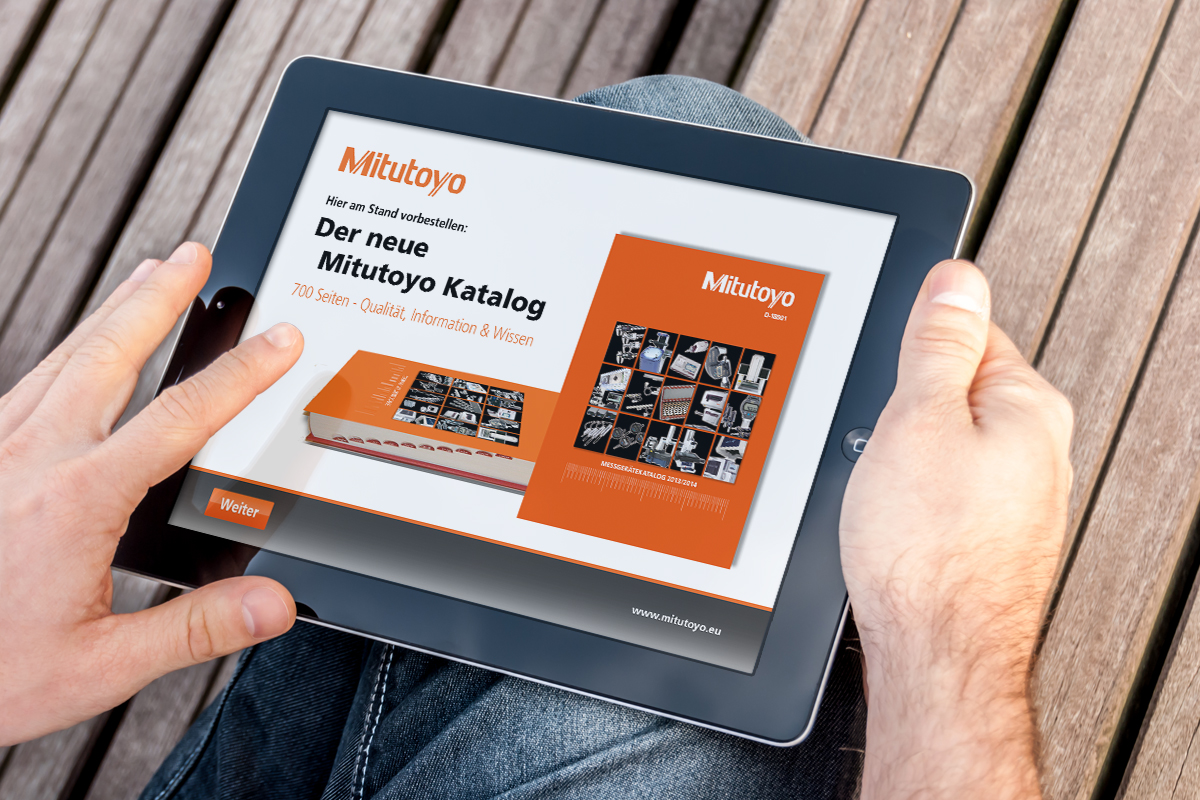 Mitutoyo – Mobile Kataloganwendung