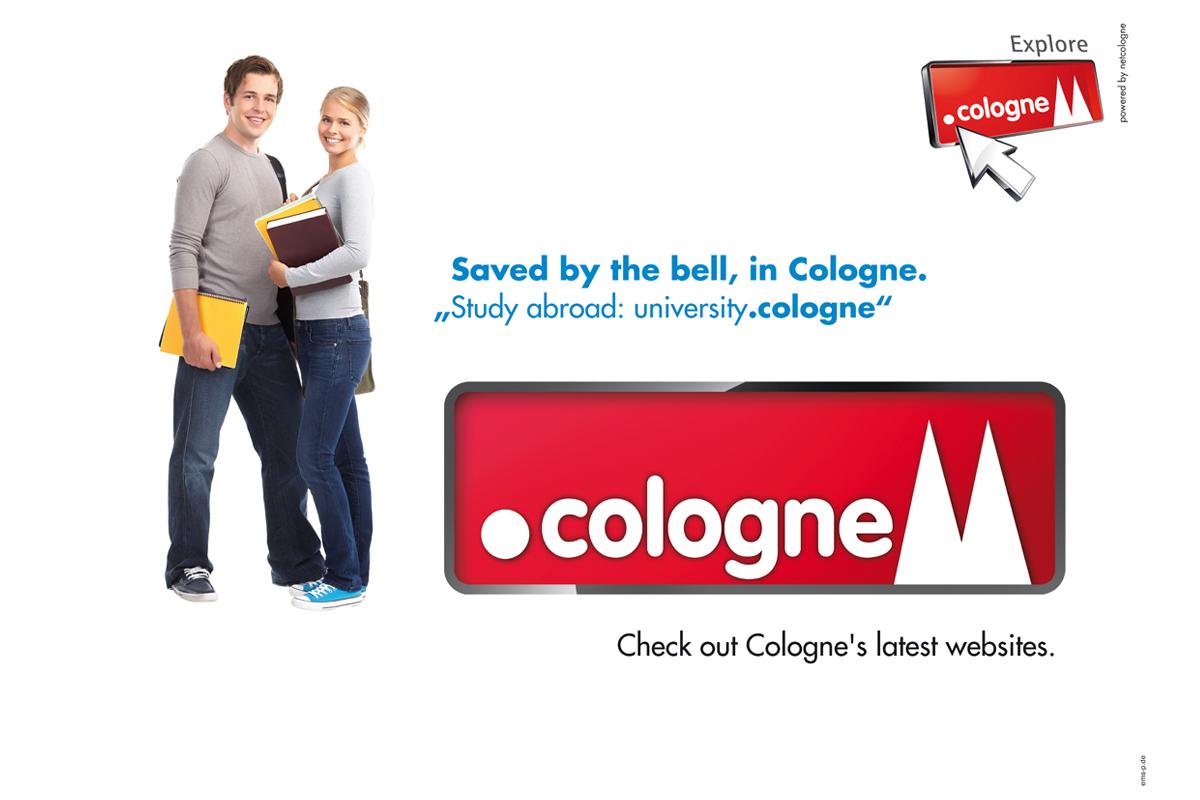 NetCologne – Kampagnenmotiv .koeln