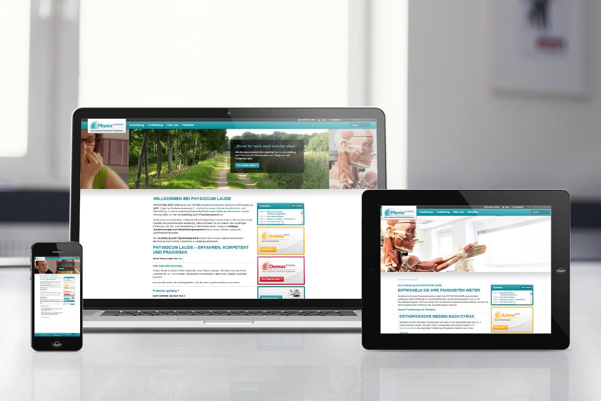 PhysioCum Laude  – Website