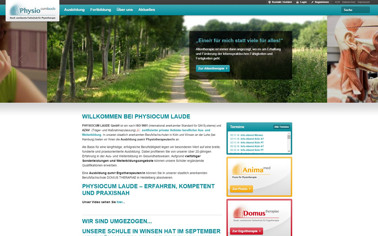 PhysioCum Laude  – Website