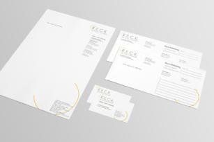 R.E.C.K. – Geschäftsausstattung
