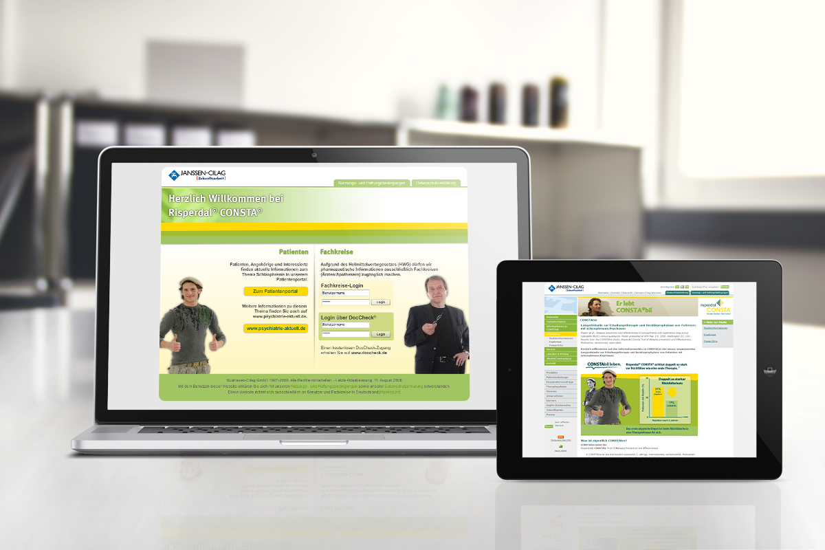 Janssen – Website Risperdal Consta