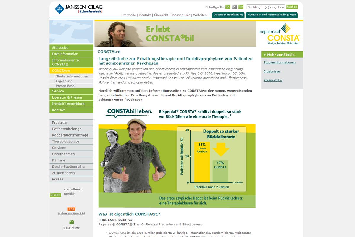 Janssen – Website Risperdal Consta