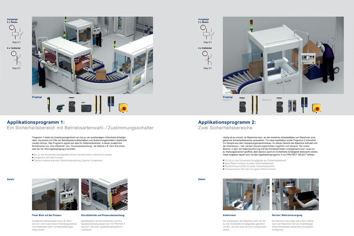 Schmersal – Produktbroschüre Optoelektronik / Protect Select