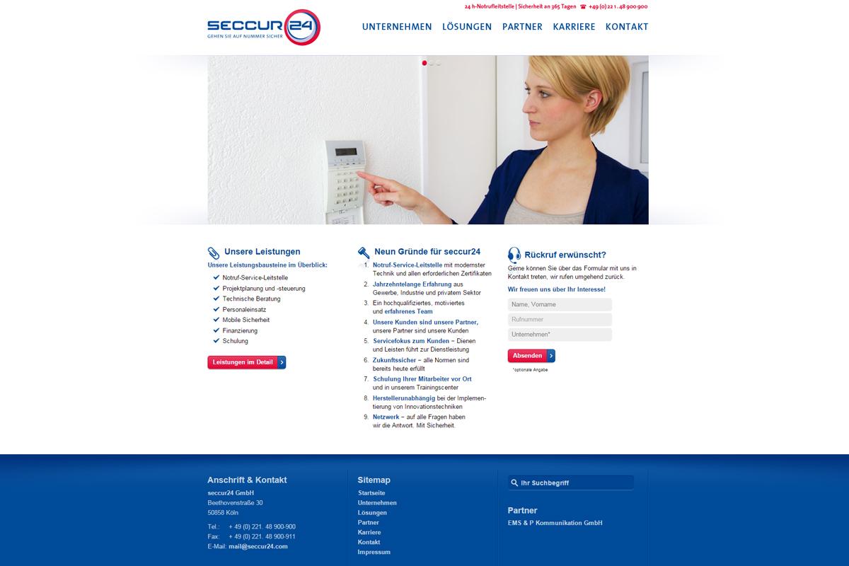 seccur24 – Website