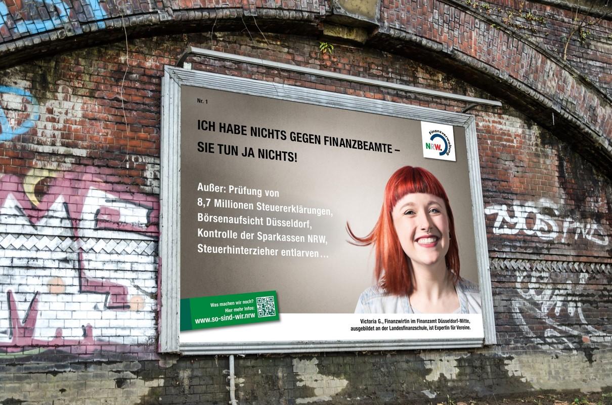 Ministerium der Finanzen NRW – Out of Home