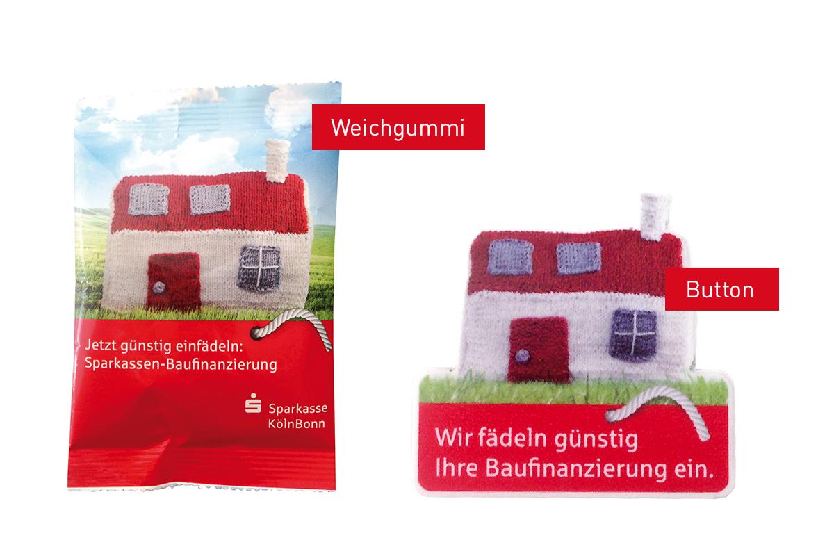 Sparkasse KölnBonn – Promotion und Dekoartikel