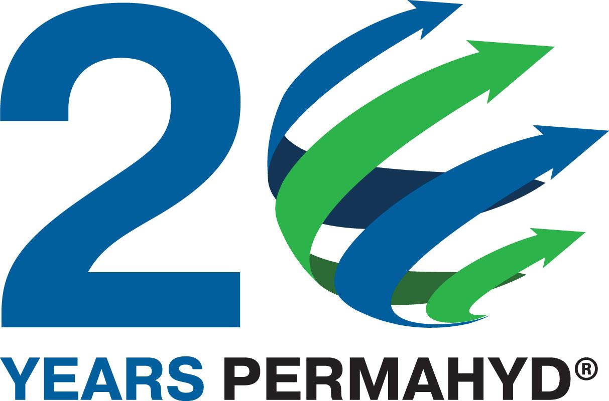 Logoentwicklung zum 20-jährigen Produktjubiläum PERMAHYD®