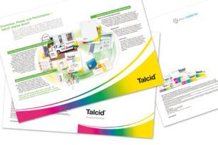 Bayer HealthCare – Talcid Aussendienstfolder