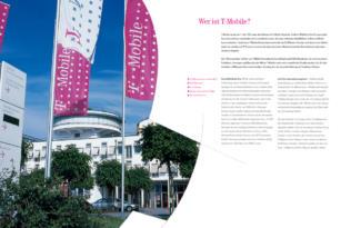 Deutsche Telekom – T-Mobile Imagebroschüre