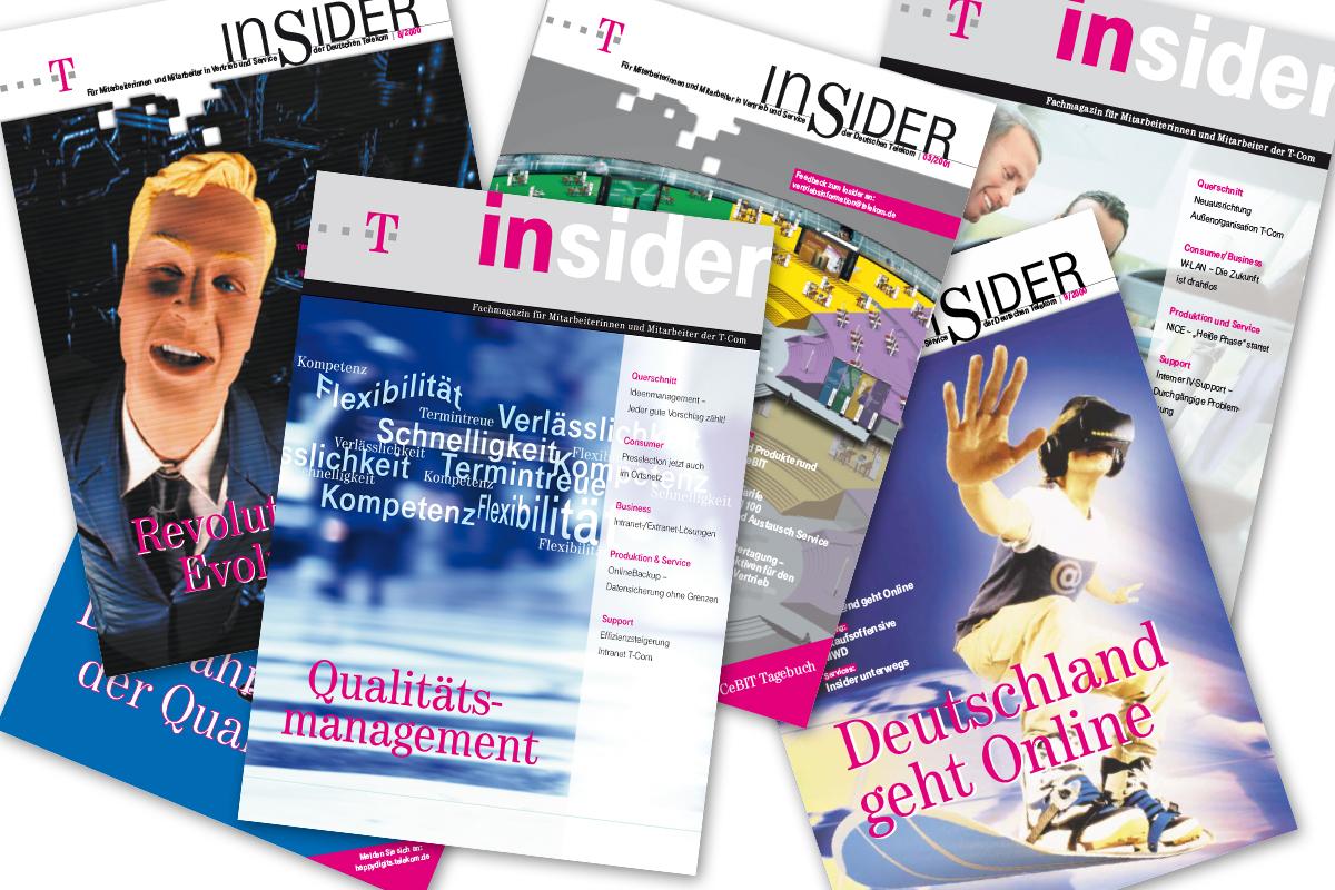 Deutsche Telekom – Vertriebsmagazin