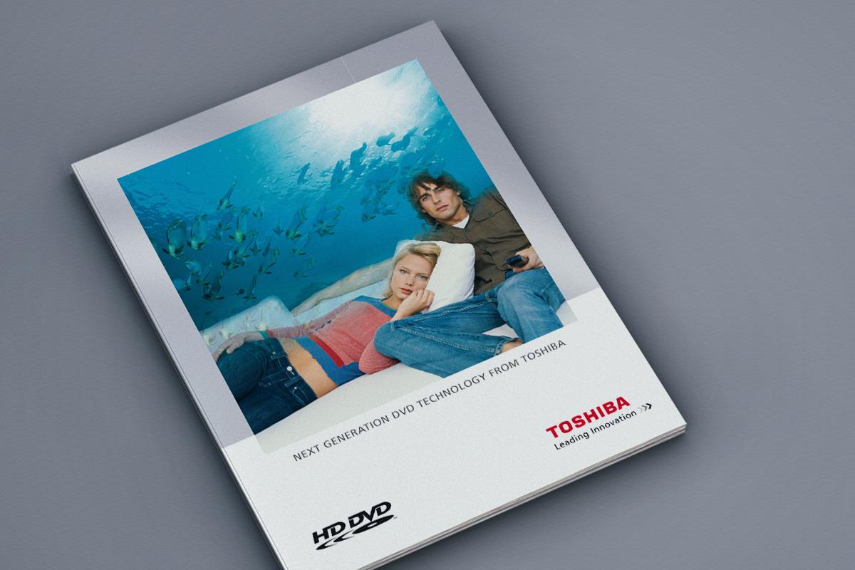 Toshiba – Broschüre HD-DVD Lounge