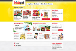 trinkgut – Website
