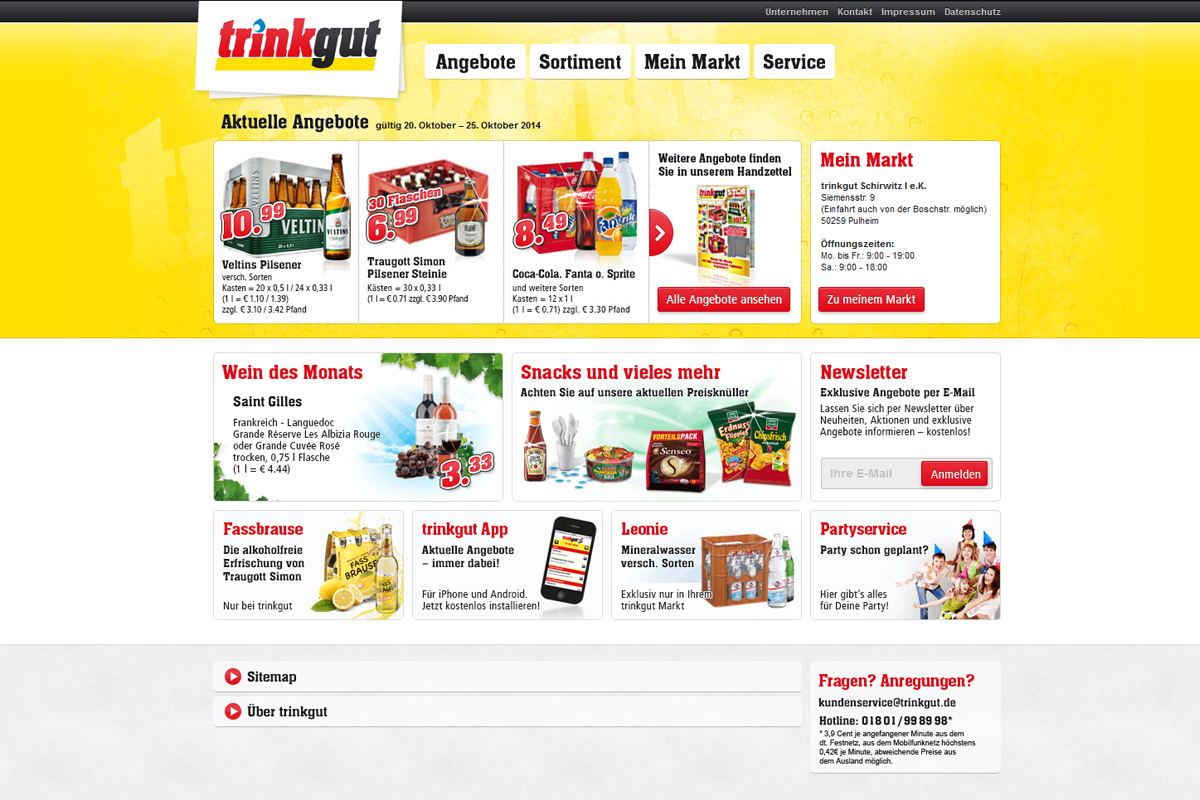 trinkgut – Website