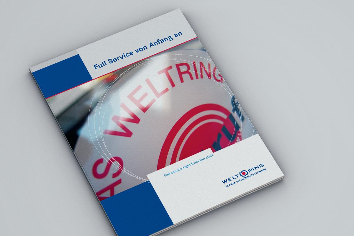 Weltring – Imagebroschüre