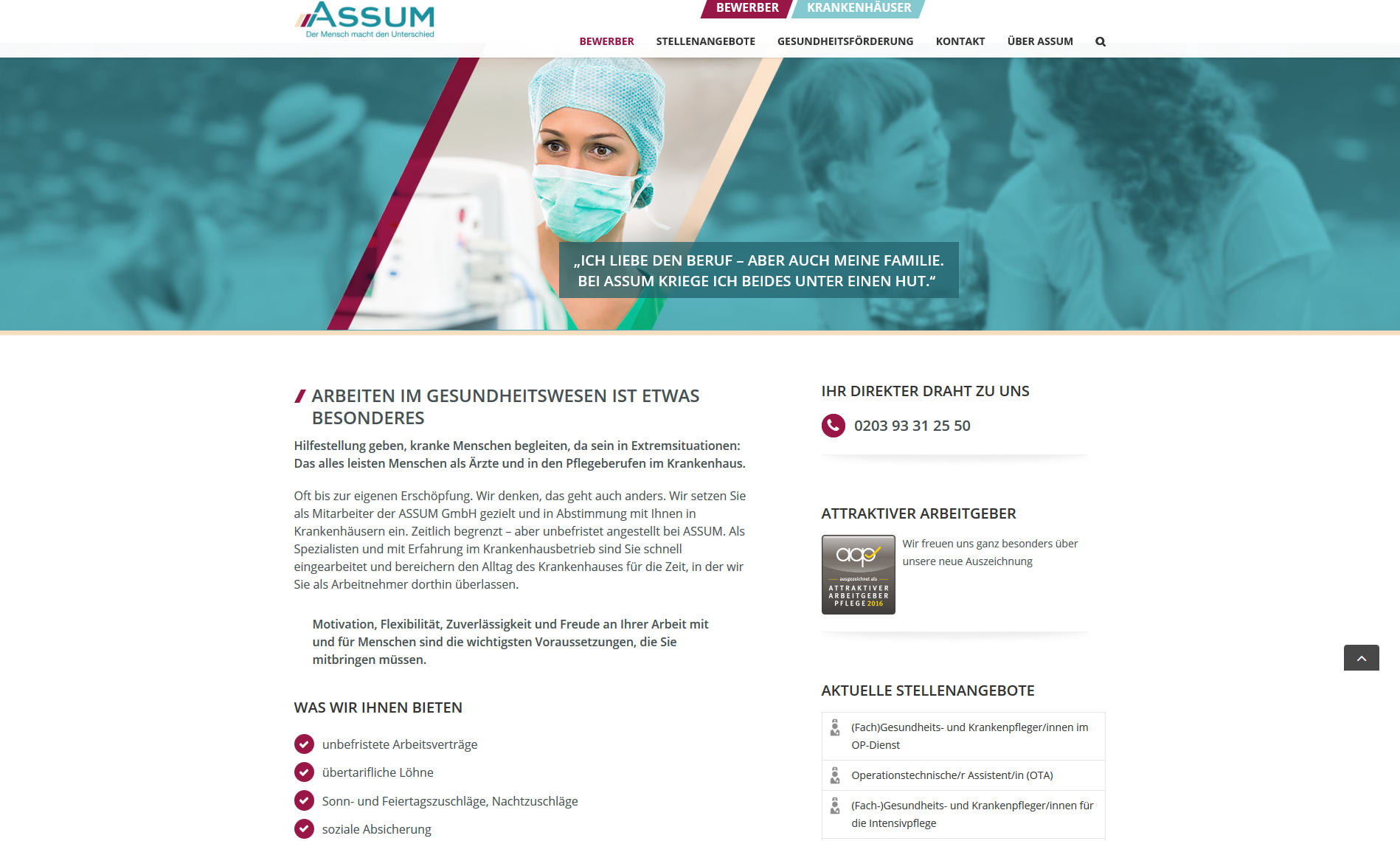 ASSUM – Website