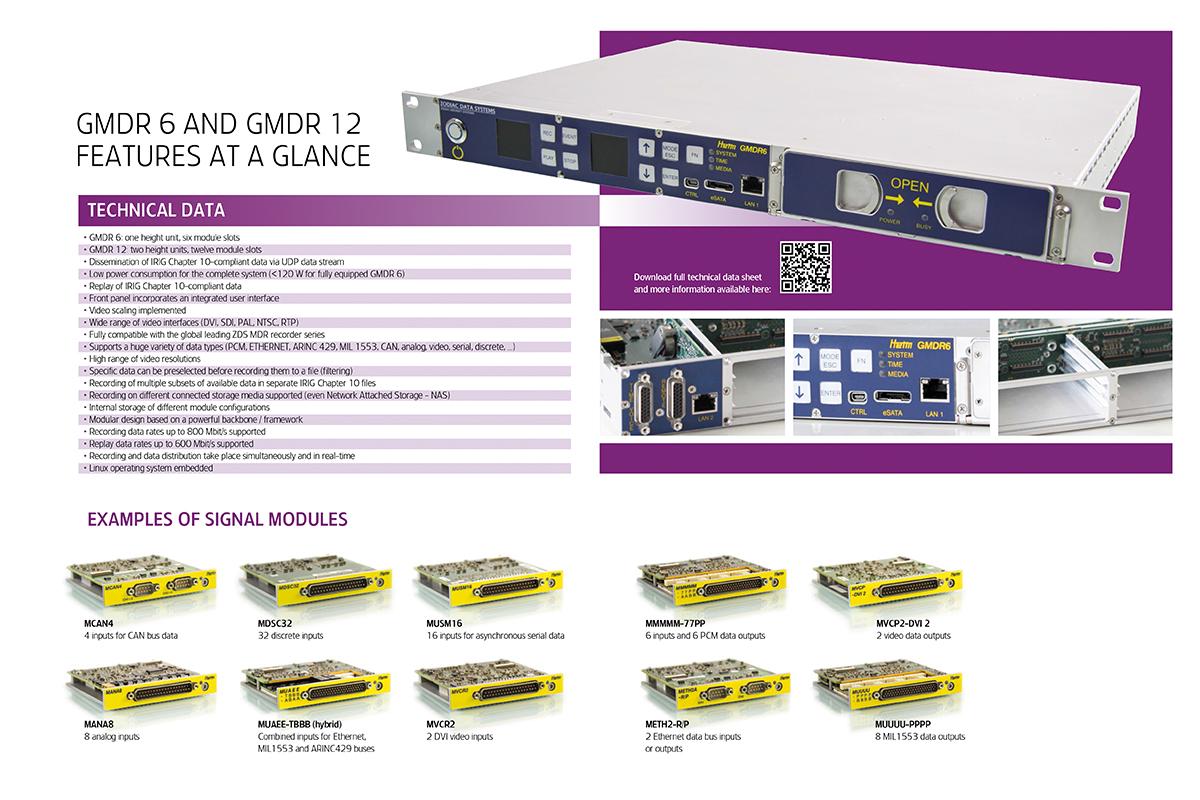 ZODIAC Data Systems – Produktbroschüre GMDR