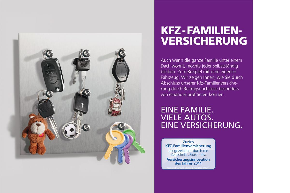 Zurich – Broschüre Kfz-Versicherung