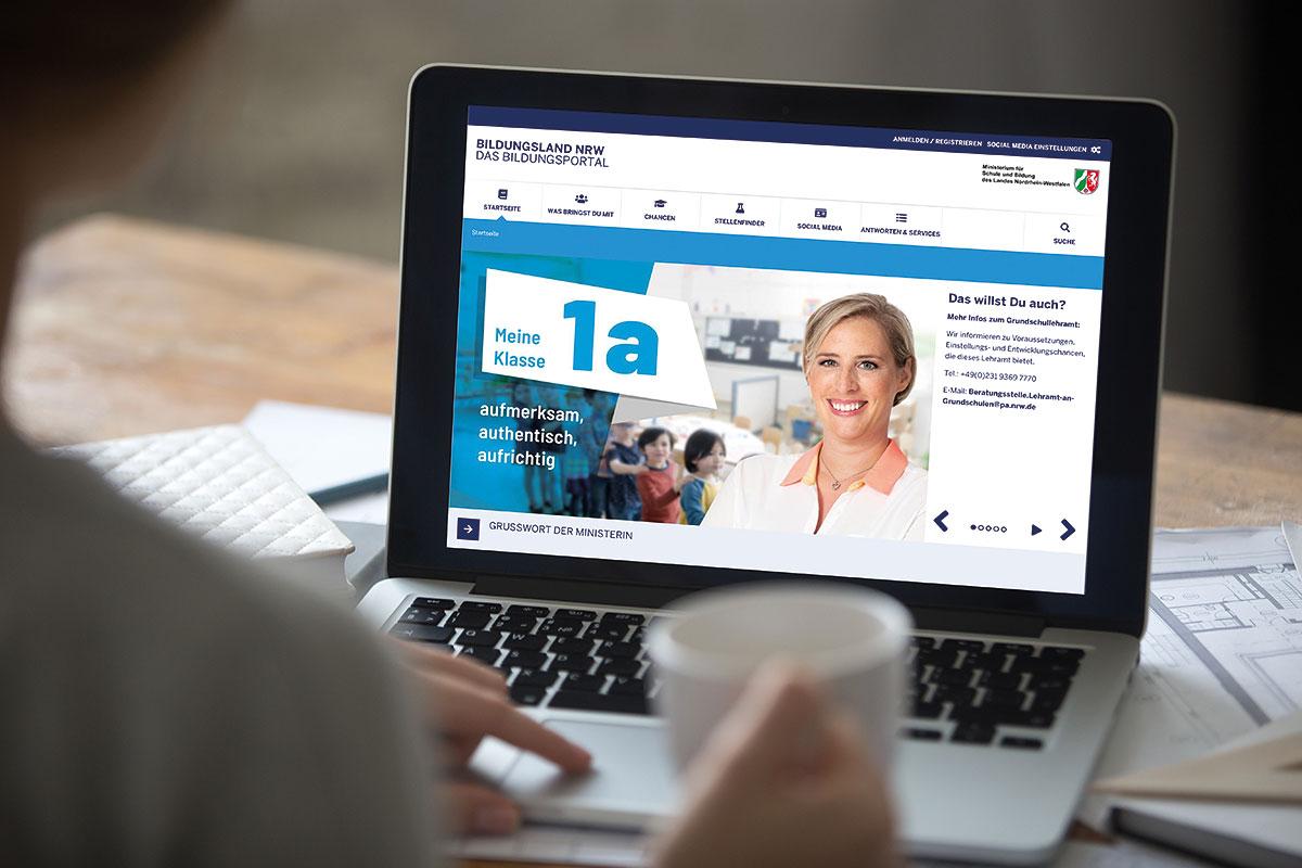 Ministerium für Schule und Bildung NRW – Online-Werbung