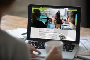 SMART Technologies – Entwicklung Website