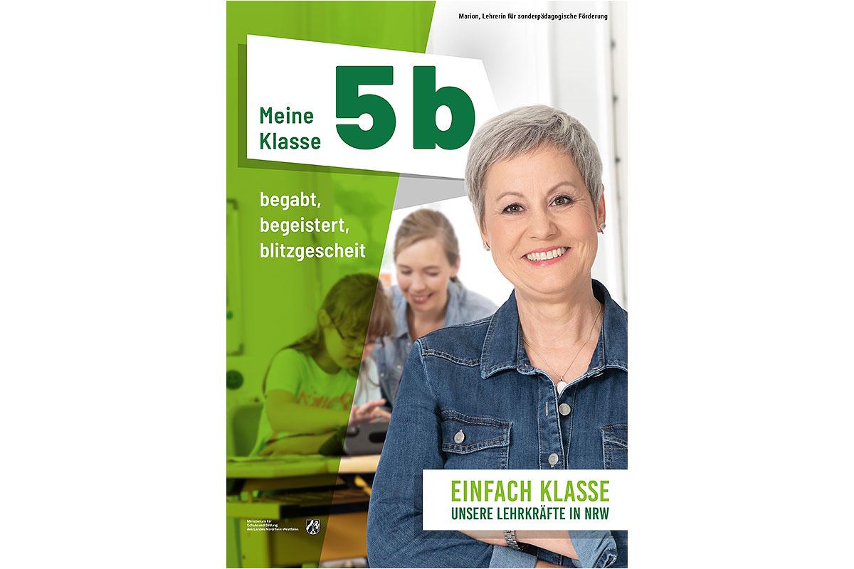 Ministerium für Schule und Bildung NRW – Kampagne