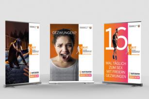 KreativRealisten überzeugen MHKBG mit einer EXIT Kreativkampagne zum Europäischen Tag gegen Menschenhandel